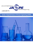 Journal of Applied Science & Process Engineering (JASPE)